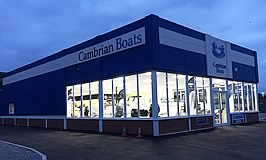 Cambrian Boats Ltd. in Swansea, South Wales.