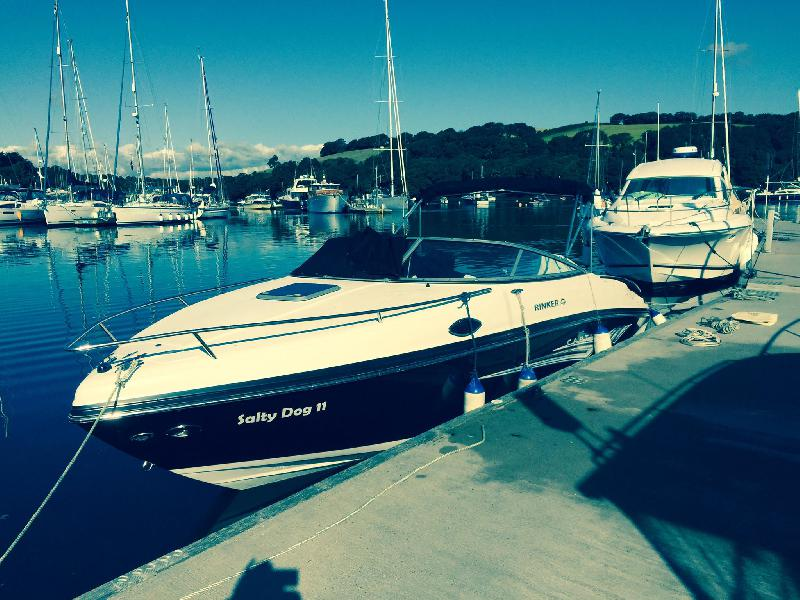Sent in by Nicola Hurley - Mylor Marina - July 2015, Salty Dog's first outing
