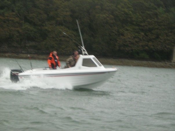 Sent in by Nathan Roberts - my warrior 165 on the menai straights maiden voyage ...