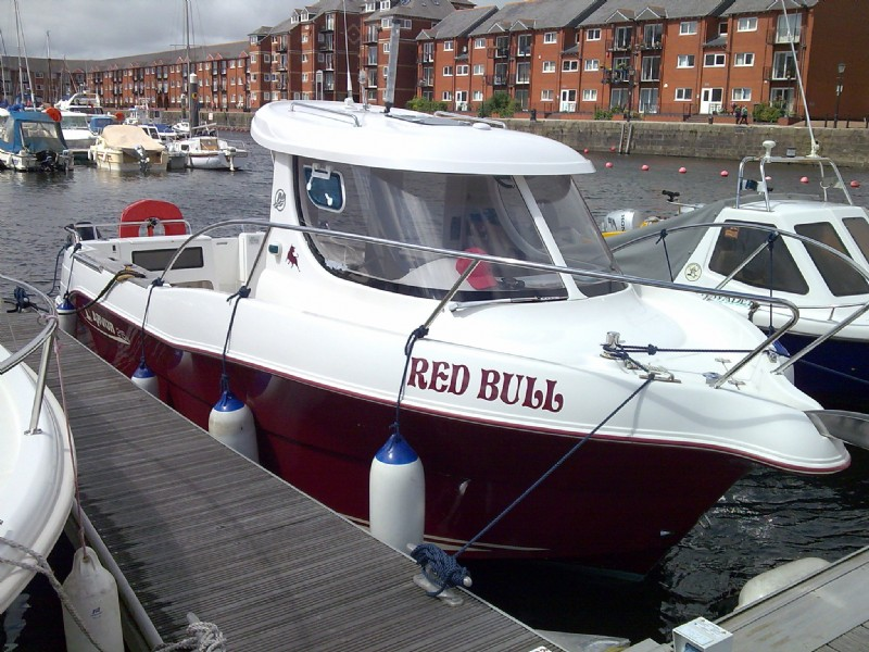 Sent in by Jason Swain - My second boat with Cambrian an Arvor 215AS ... brilliant just birlliant!