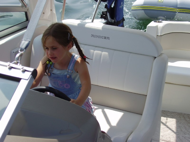 Sent in by Harry - This boating lark is childsplay!