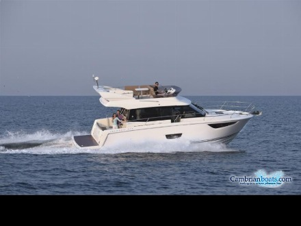 Jeanneau boats at Cambrian Boats